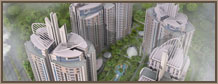 :: Project Burj-ul-Harmain - A Birdeye View ::